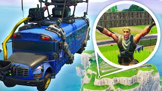 WHAT HAPPENS WHEN YOU MISS THE BATTLE BUS!? - Fortnite Short Film