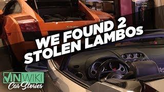 VINwiki found two stolen Lamborghinis!