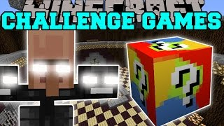 Minecraft: VILLAGER WITHER CHALLENGE GAMES - Lucky Block Mod - Modded Mini-Game