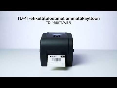 Brotherin TD-4T-tulostimet ammattikäyttöön | TD-4650TNWBR