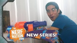 Zach King Team vs Mystery Guest 🤔❓NERF Battle | The NERF Nation Show Episode 7