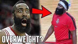 James Harden Looks OVERWEIGHT in Picture in 2020 NBA Preseason Debut For the Houston Rockets