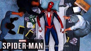 Spider-man Almost Dies - PS4 Spider-man Clip (PS4 Pro)