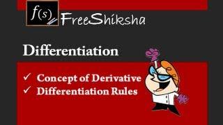 Understanding Derivative : IIT-JEE MAINS ADVANCED MATHS, BITSAT, CBSE 11th 12th