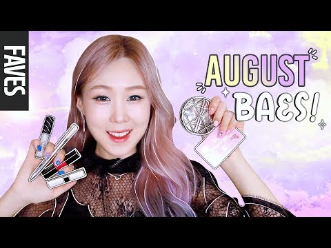 AUGUST FAVORITES 2018! 💖 Korean & Western Beauty Products | 8월 추천 뷰티템! meejmuse