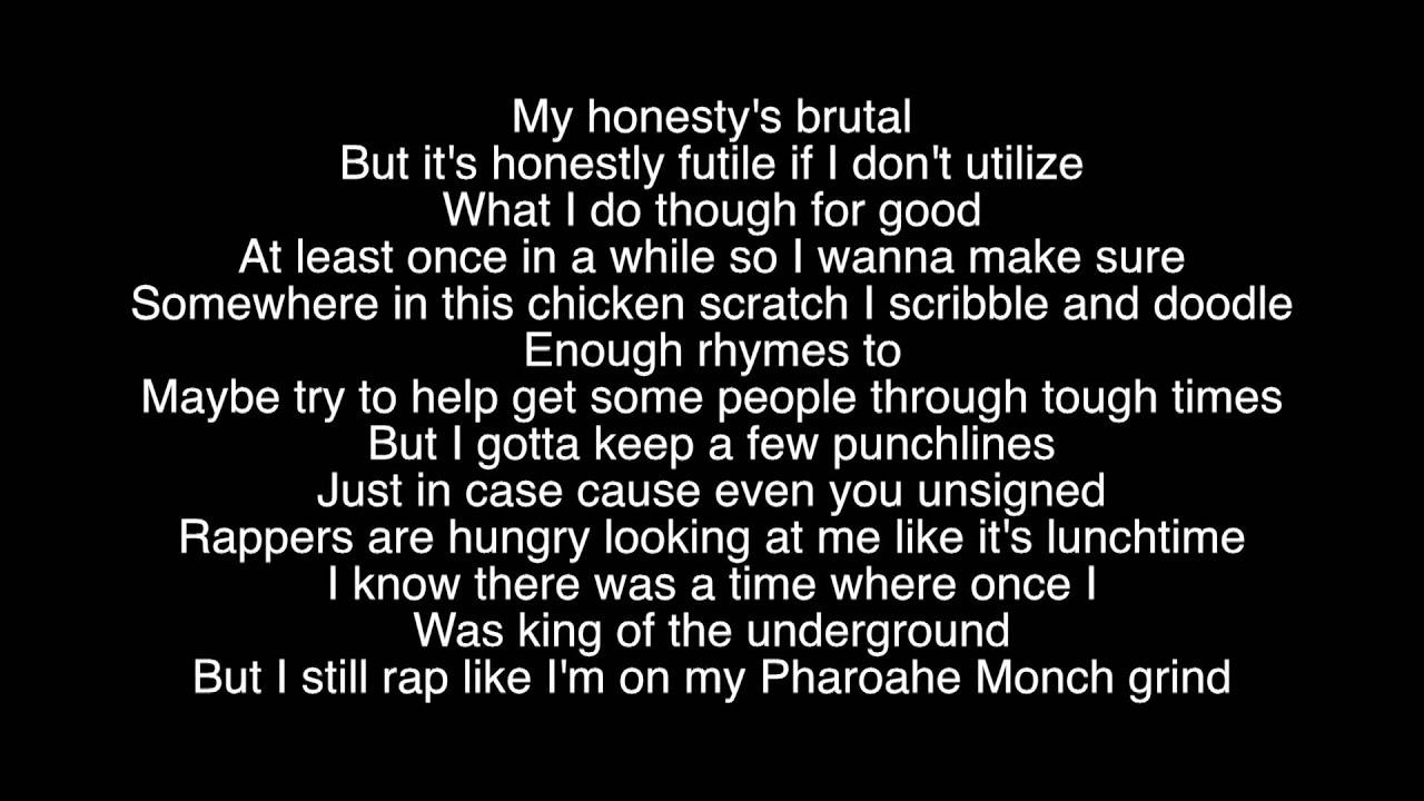 rap god lyrics eminem youtube