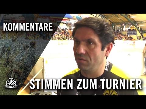 Die Stimmen zum Turnier (U11 E-Junioren, Allianz Cup 2017) | SPREEKICK.TV