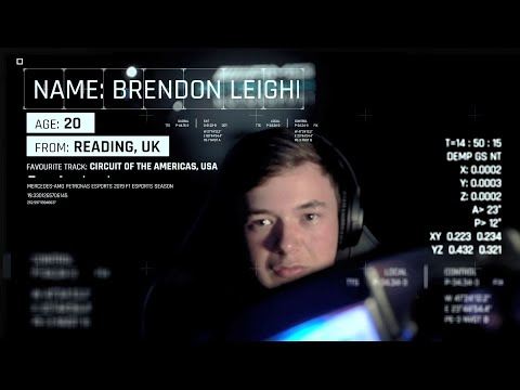 Introducing: Brendon Leigh - Mercedes F1 Esports