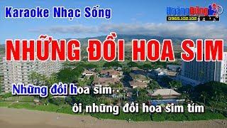 Karaoke Nhạc Sống - Những Đồi Hoa Sim - Beat chất lượng cao
