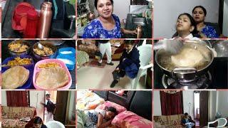 ముందు రోజు ప్రీ ప్రిపరేషన్స్ చేసుకోకపోతే ఇలాగె ఉంటుంది మరి/Crazy morning routine/Indianmom busy life