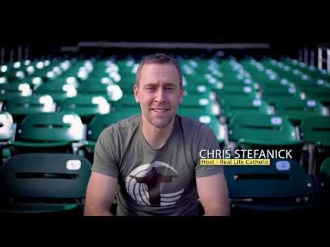 """Chris Stefanick, host of """"Real Life Catholic"""" on EWTN, will be a featured speaker at EWTN's 2018 Family Celebration. Here's what he has to say about it!"""