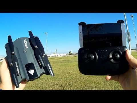 F196 Very Long Flying Position Hold FPV Camera Drone Flight Test Review