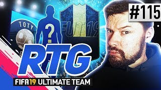 OMG I PACKED A TOTY! - #FIFA19 Road to Glory! #115 Ultimate Team