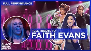 Faith Evans is Honored by V. Bozeman, Demetria McKinney and Syleena Johnson   | Black Music Honors