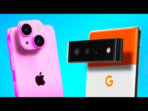 Google Pixel 6 vs iPhone 13