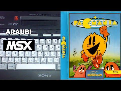 Pac-Mania (Teque, 1988) MSX [769] Walkthrough Comentado