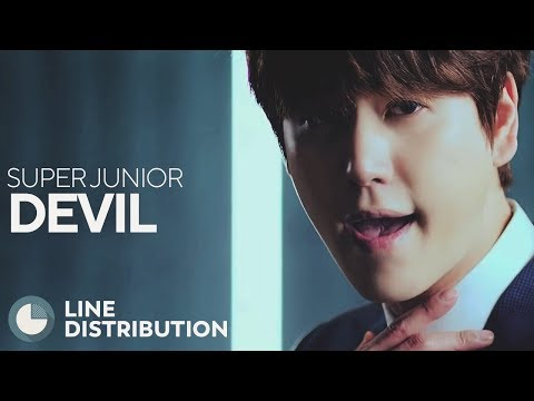 SUPER JUNIOR - Devil (Line Distribution)