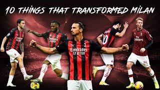 10 Things That Transformed AC Milan in 2020/21