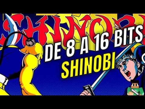 DE 8 A 16 BITS: SHINOBI (SEGA)