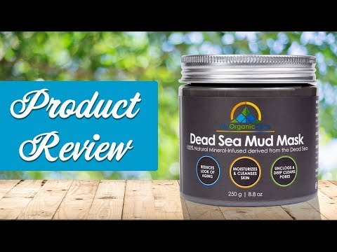 Dead Sea Mud Mask Benefits & Reviews Black Face Mask By My Organic Zone for Blackheads & Acne