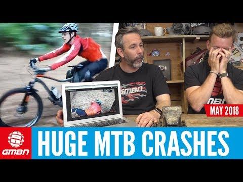 Epic Mountain Bike Crashes   GMBN Crash Reel May 2018
