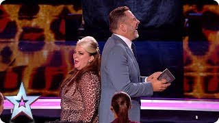 HILARIOUS Mandy Muden brings her bag of magic tricks to the Semi's! | Semi-Finals | BGT 2018