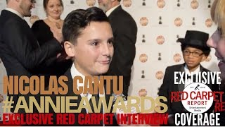 Nicolas Cantu The Amazing World of Gumball interviewed at the 45th Annual Annie Awards #ANNIEAwards