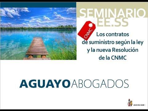 Aguayo Abogados. EE.SS. Adaptación suministro 2014