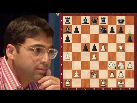Amazing Chess Game: Vishy Anand vs Peter Leko : World Rapid Championship (2017): Italian Game: