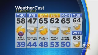 New York Weather: CBS2 4/3 Evening Forecast at 5PM