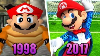 Evolution of Mario Party Games (1998 - 2017)