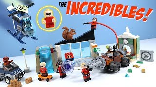 LEGO Juniors The Incredibles 2 Construction Sets Dash Build Review