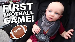 Luke's First Football Game!