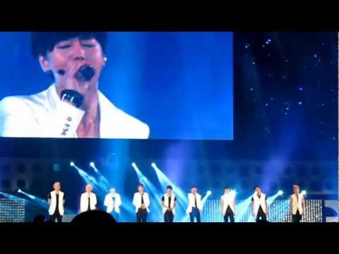 120721 Yeosu Expo Korea Pop Festival - Super Junior 언젠가는 (Someday) Fancam