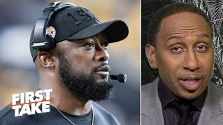 Stephen A. still has hope the Steelers will make the playoffs | First Take