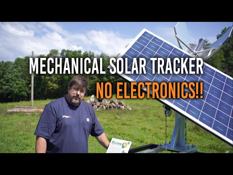 Super Cool Phase Change Solar Tracker - No Power Needed!!