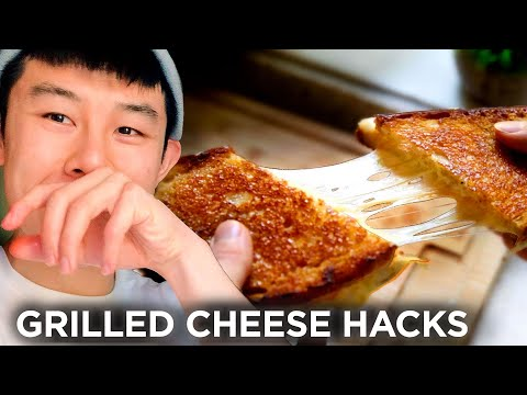 I Made Grilled Cheese Sandwiches Using 11 Hacks In A Row ? Tasty