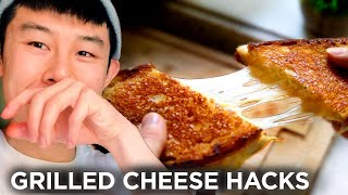 I Made Grilled Cheese Sandwiches Using 11 Hacks In A Row • Tasty