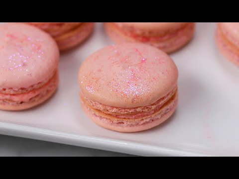 Rosé Macarons For Your Next Girl's Night ? Tasty