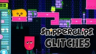 Snipperclips Glitches