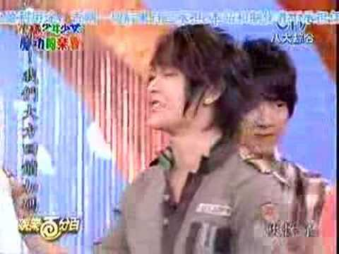 2007-03-01 娛樂百分百 花樣少年少女慶功同樂會 要吹.....??