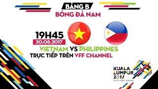 FULL | U22 VIỆT NAM vs U22 PHILIPPINES | BẢNG B BÓNG ĐÁ NAM SEA GAMES 29
