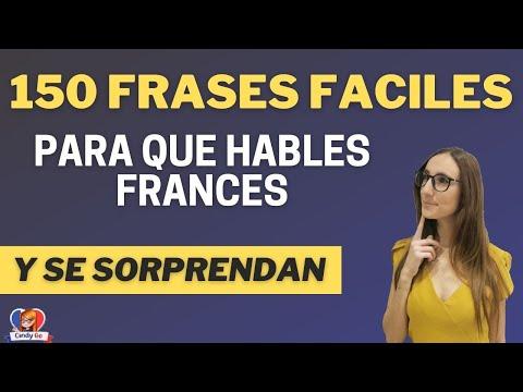 150 FRASES FACILES EN FRANCES PARA QUE HABLES SIN TEMOR Curso Completo de Francés