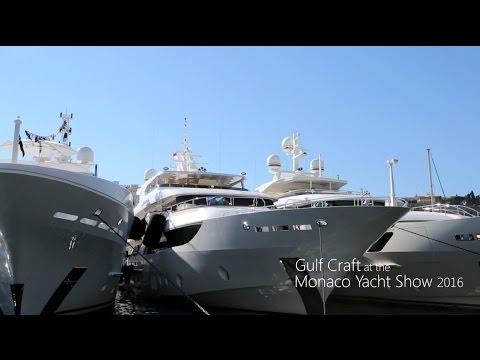Gulf Craft at the Monaco Yacht Show 2016- Part 2