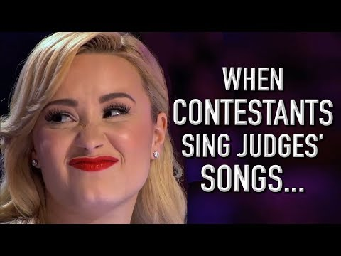 When Contestants Audition With Judges' Songs!   X Factor Global