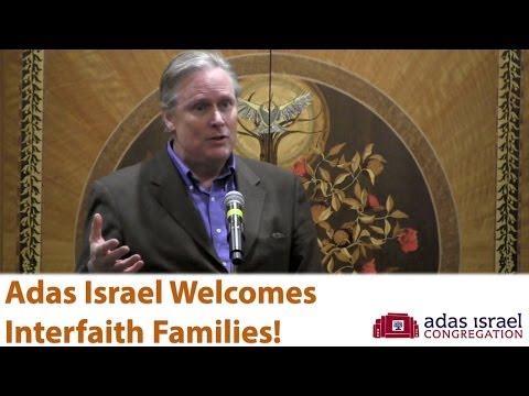 Interfaith At Adas Israel - John Donvan's Story - YouTube
