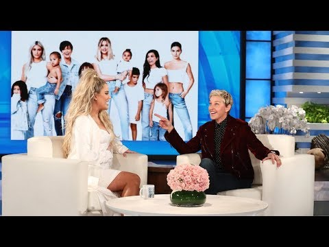 Ellen Can Tell by Khloe's Eyes That Kylie Jenner Is Pregnant