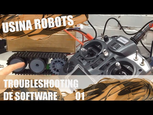 TROUBLESHOOTING DE SOFTWARE 01 | Usina Robots US-2 #028
