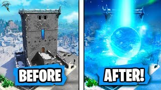 """NEW """"Polar Peak"""" is getting """"DESTROYED"""" by Ice Ball Says Epic (RIP POLAR PEAK!!)"""