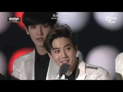 2014 MAMA EXO Album of the year in Asia